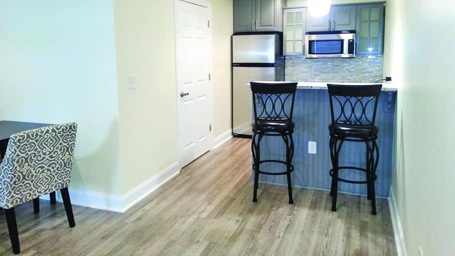 in-law suite basement remodel