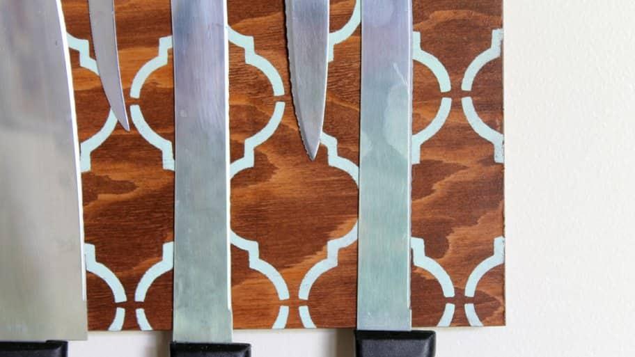 DIY knife holder