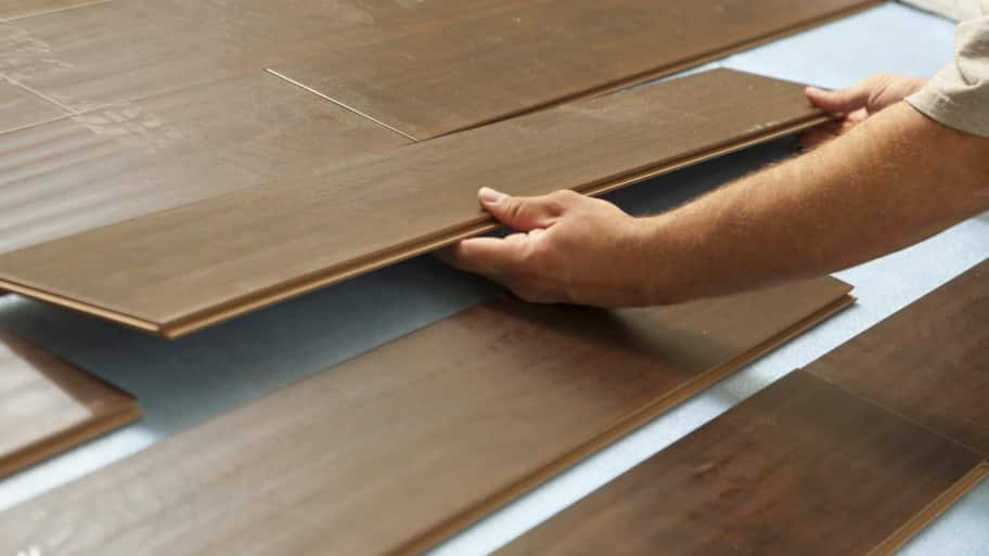 Remove Water Damaged Laminate Flooring, How Much Do I Charge To Lay Laminate Flooring