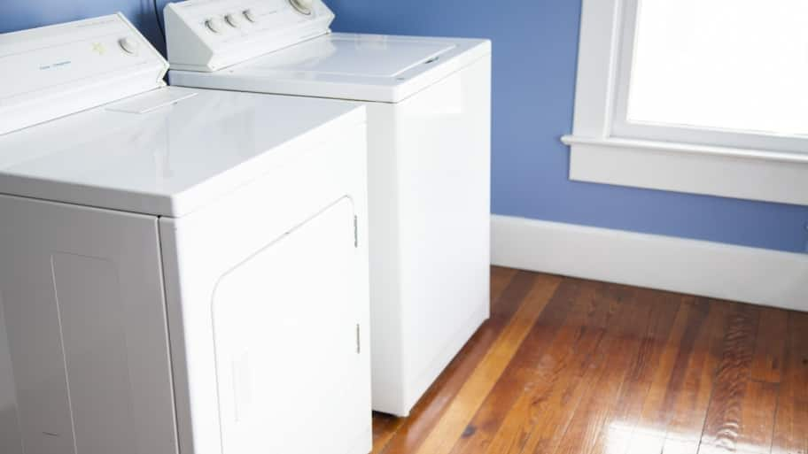 same floor washer and dryer laundry room remodel