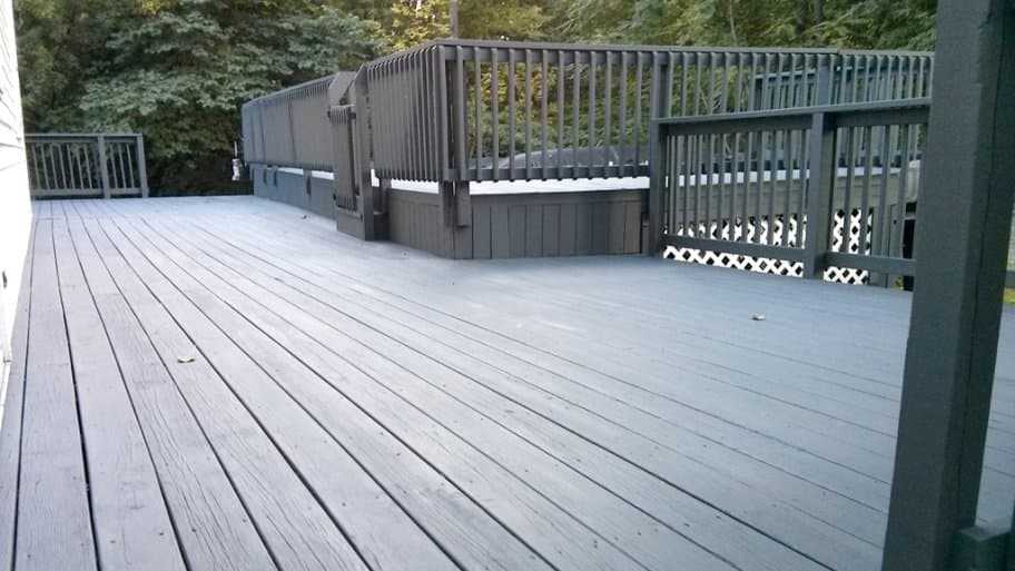 Oil Or Acrylic Choose The Right Deck Paint Stain Angi