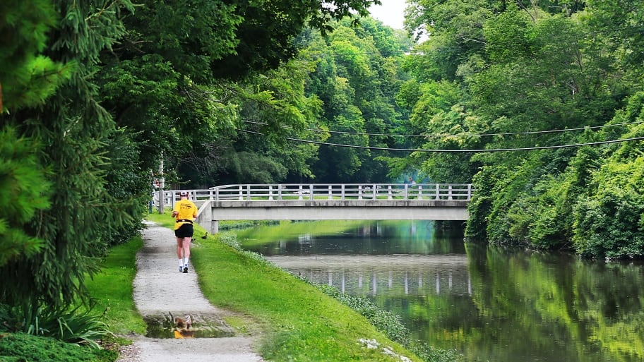 The canal in Rocky Ripple, Indianapolis