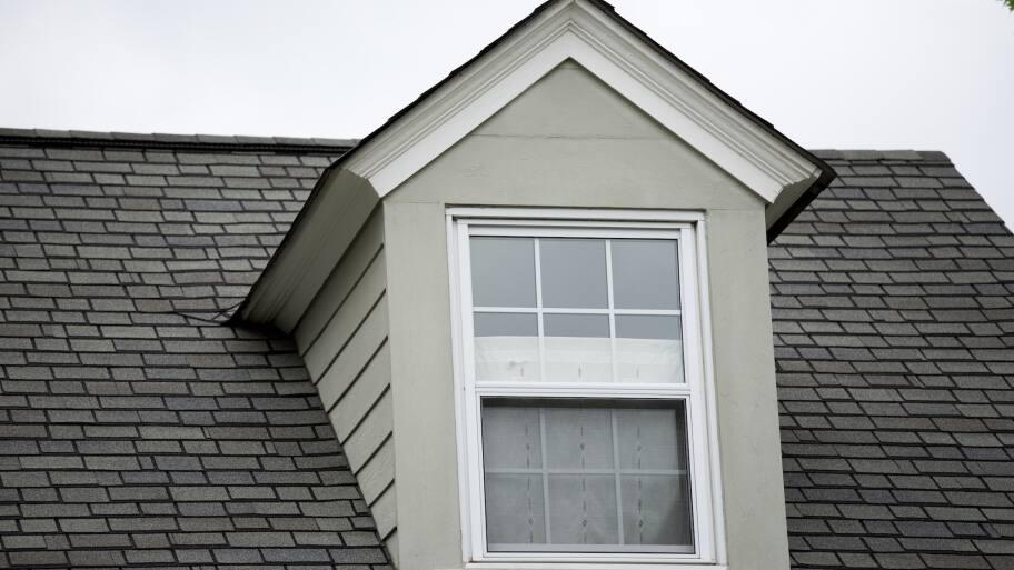 roof dormer with window (Photo by Eldon Lindsay)