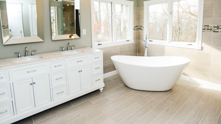 5 Bathroom Flooring Ideas To Avoid Angi