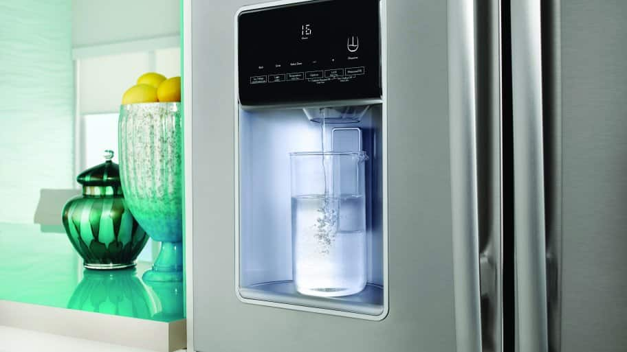 refrigerator provides soft drinking water