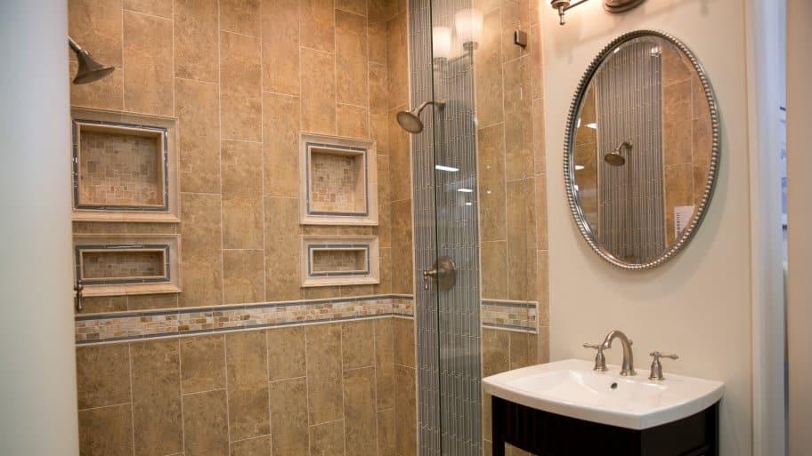 decorative bathroom mirror