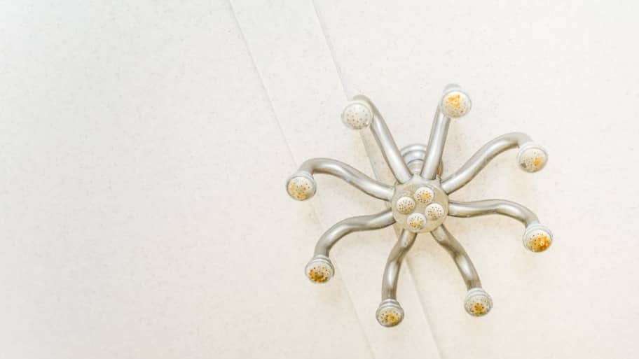 Eight-headed shower fixture