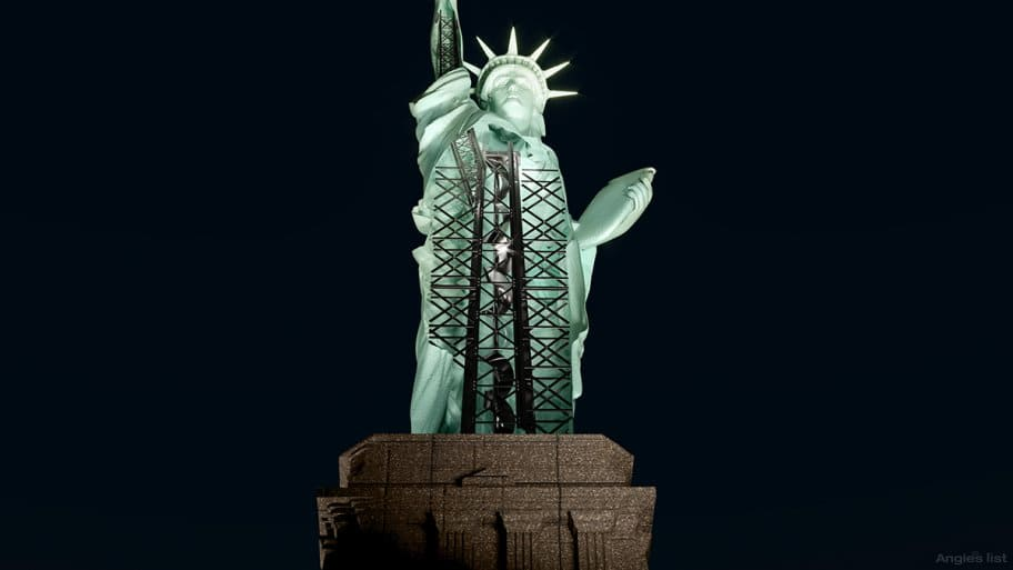 Statue of Liberty Zoom