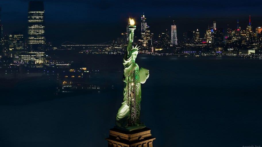 Statue of Liberty Cutaway