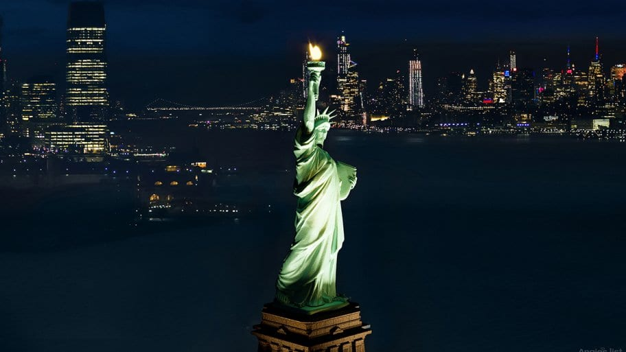 Statue of Liberty Exterior
