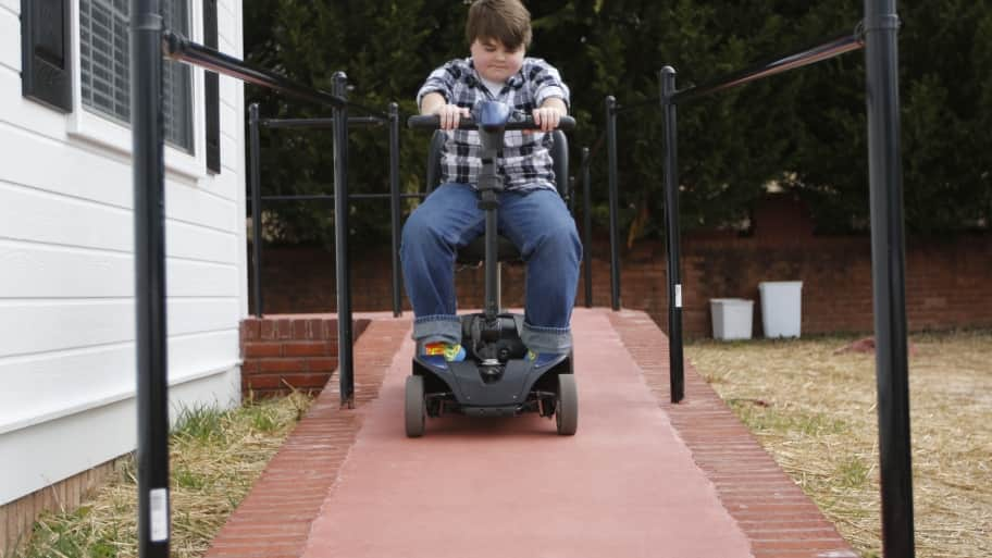 handicap accessible ramp