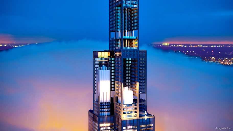 Willis Tower Cutaway Zoom
