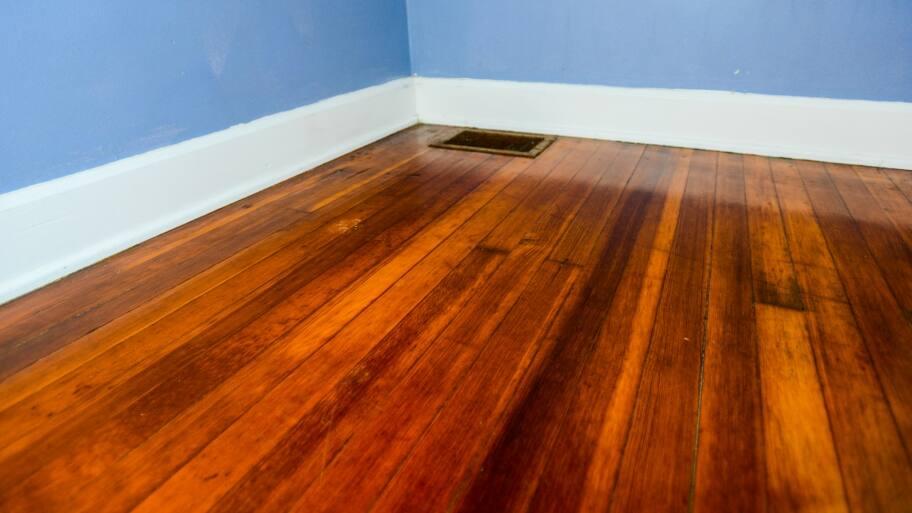 hardwood floor in home
