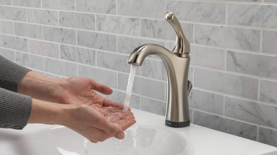 Delta Touch2O no-touch bathroom faucet