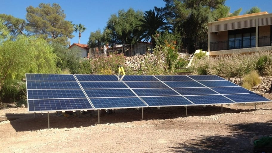 When selecting a solar panel installer, it's important to know the efficiency of the panels that will be used in your system. Cheaply made solar panels do not give homeowners as high a return on investment. (Photo courtesy of Angie's List member Thomas B. of Las Vegas)