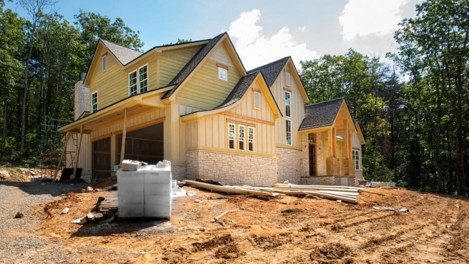 Residential Home under construction (Photo by Dan Reynolds Photography / Moment via Getty Images)