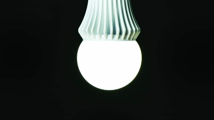 LED light bulb (Photo by Brandon Smith)