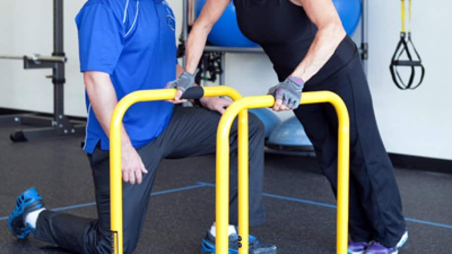 You should make sure that the personal trainer has a track record of having success with clients who are similar to you, says Hodge. (Photo courtesy of Medical Fitness Pros)