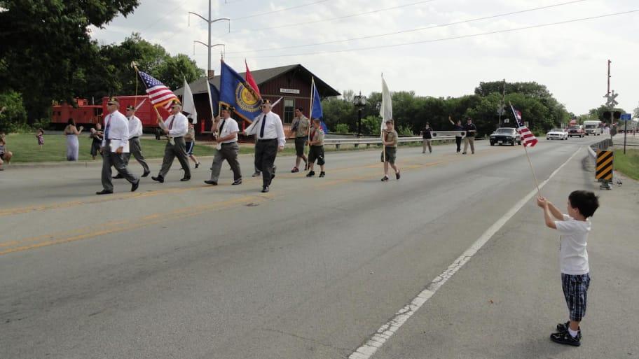 Plainfield Illinois parade