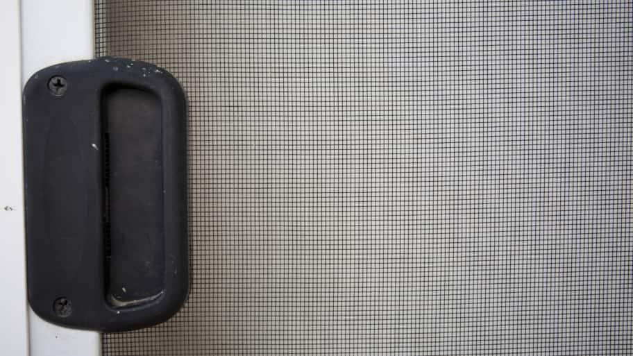 screen door and handle