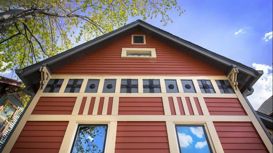 historic home exterior rehab
