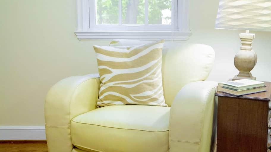 chair at senior living community