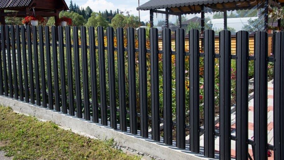 New Aluminum Fence