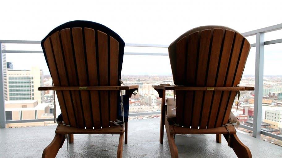 small apartment furniture balcony ideas