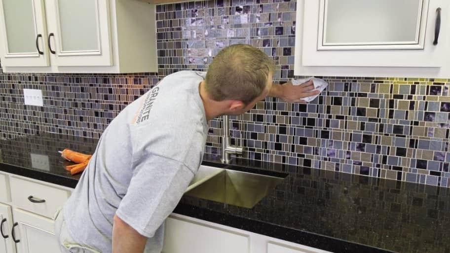 backsplash, kitchen, contractor