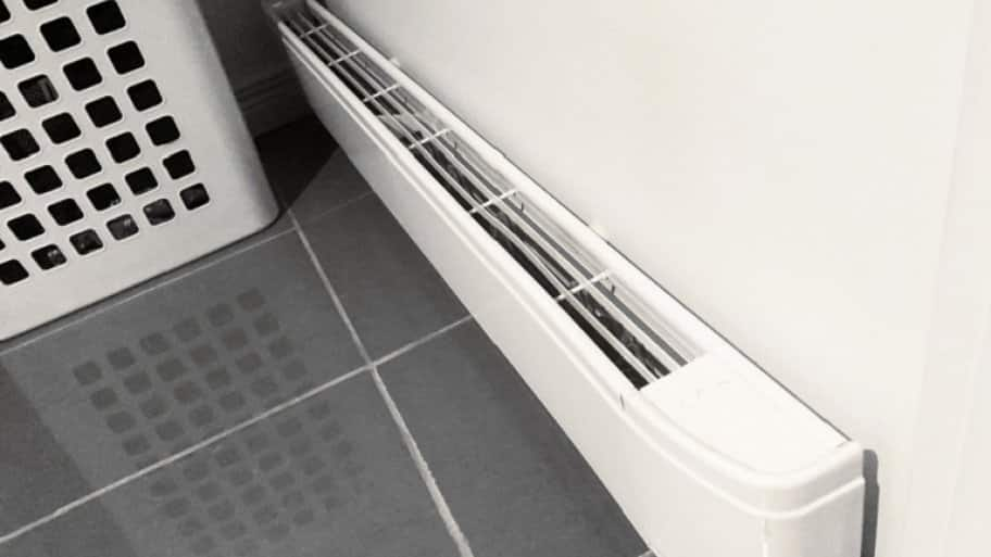 Baseboard heater (Photo by Vonkara1 / iStock / Getty Images Plus via Getty Images)