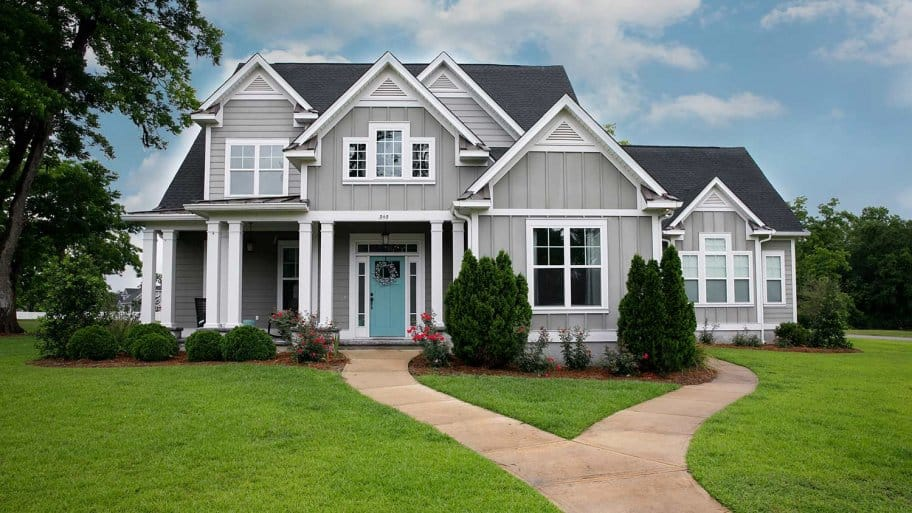 Clean Craftsman house with curb appeal