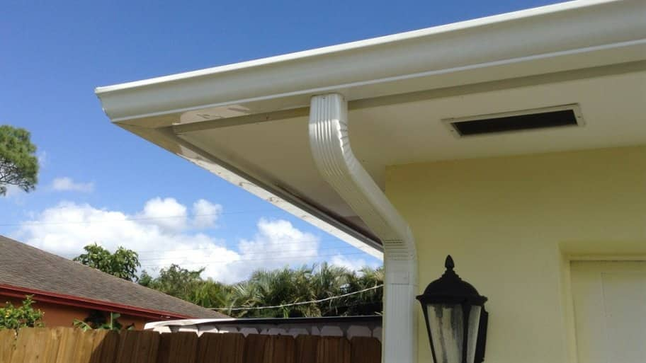 Clogged gutters can do serious damage to a home over time. (Photo courtesy of Angie's List member Patricia M. of West Palm Beach, Florida)