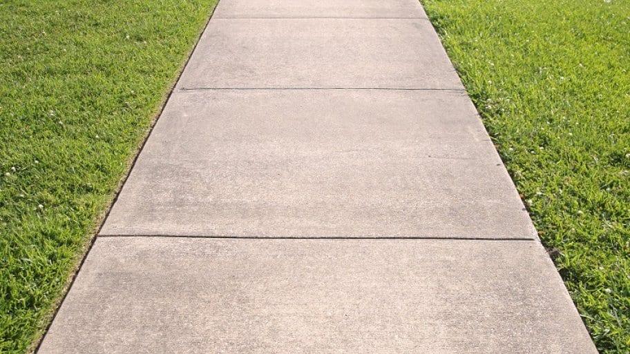 Concrete Walkway Close-up