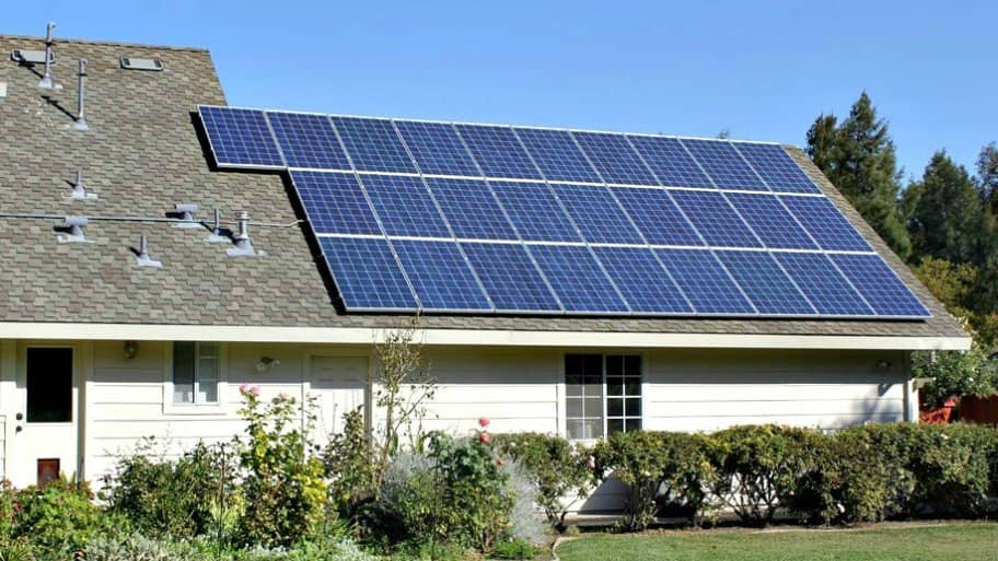 Home owners in D.C. with solar panels may soon have new rights to keep the sun shining on them. (Photo courtesy of Angie's List member Jennifer O.)