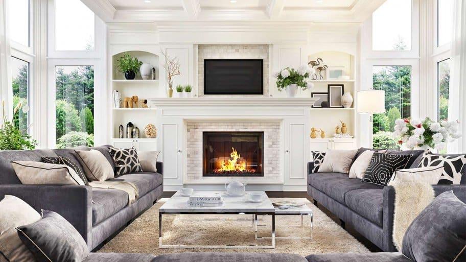 Beautiful professionally designed room