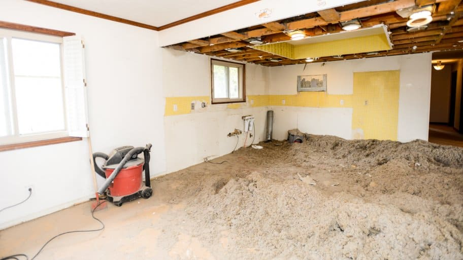 drywall and insulation