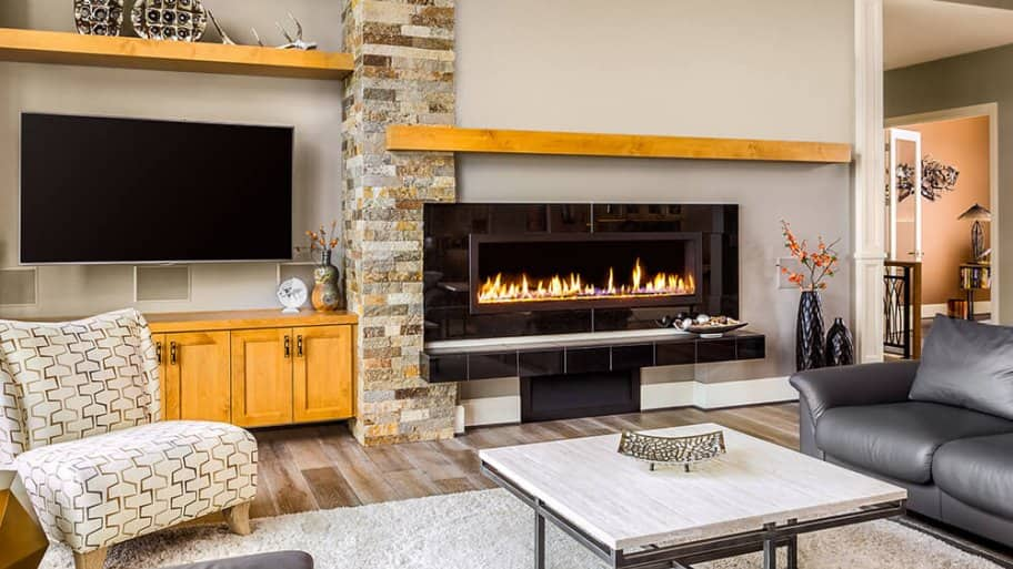 Electric Fireplace Installation Costs, Cost To Repair Electric Fireplace