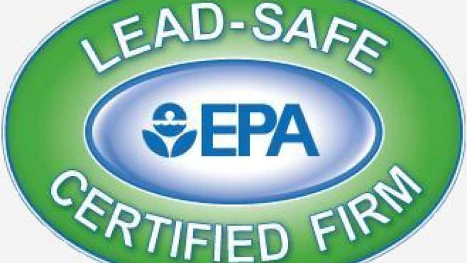 Look for this logo when searching for a company that's certified in lead-safe practices.