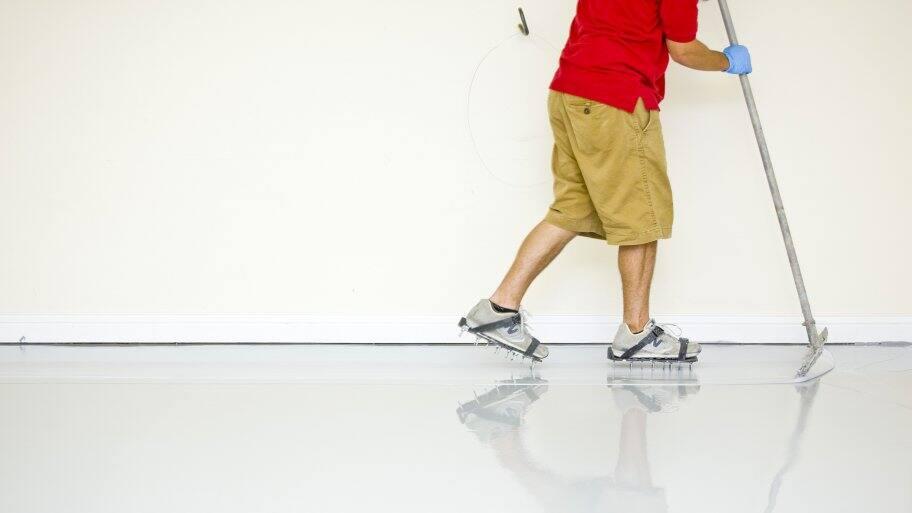 epoxy floor install