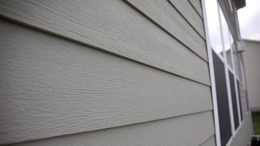 fiber cement siding on home