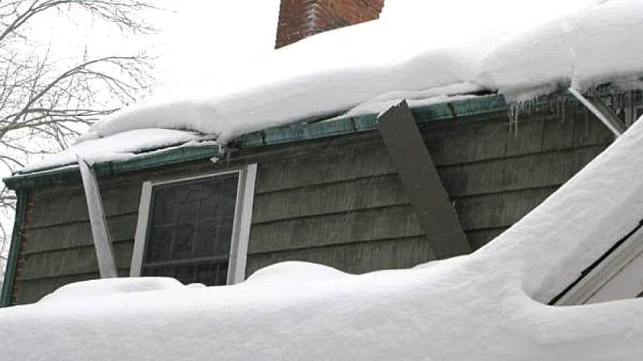 frozen gutters