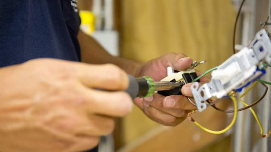 shoddy DIY electrical