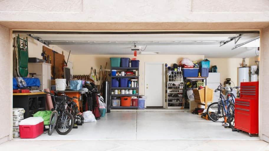 A well organized garage