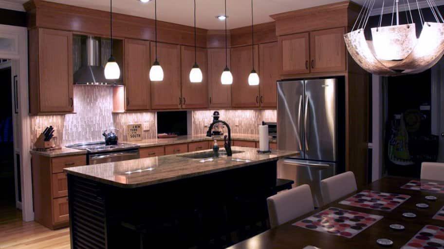 kitchen island lighting