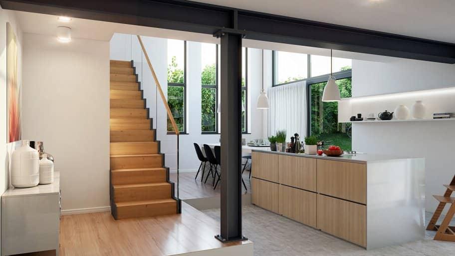Renovated loft