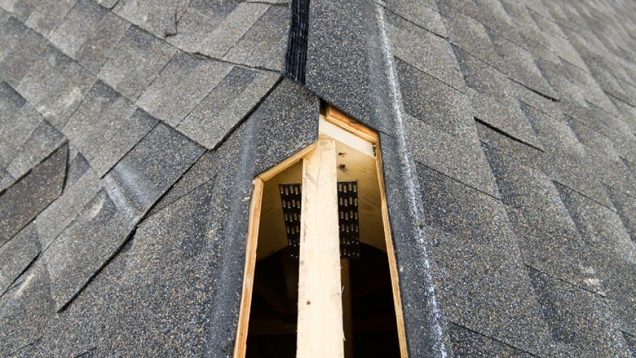 Roof ridge vent (Photo by SimplyCreativePhotography / iStock via Getty Images)