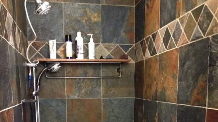 Stoddard Tile tested several damage solutions until they found the right one. (Photo courtesy of Angie's List member Ellen McCormick of Sacramento, Calif.)