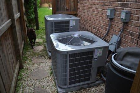 Outdoor A/C units