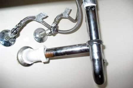 Angie's List can help frustrated homeowners find reliable plumbers and other highly rated service providers. (Photo courtesy of Angie's List member Dennis B.)