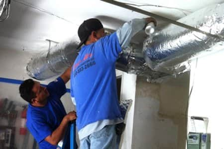 Cleaning your air ducts on the regular will reduce excessive dust. (Photo courtesy of Angie's List member Edward S.)